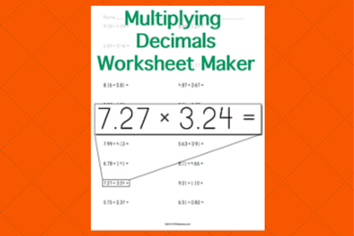 wroksheet multiplying-decimals-worksheet-horizontal